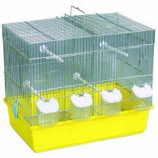 Klietka pre vtáky - chróm, 45x28x38cm