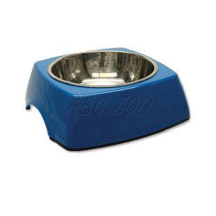 Miska pre psa DOG FANTASY, hranatá - 0,70L, modrá