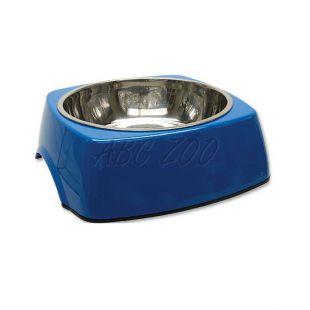 Miska pre psa DOG FANTASY, hranatá - 1,40L, modrá