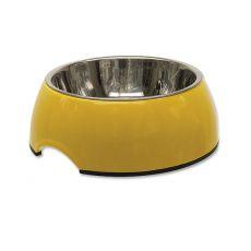 Miska pre psa DOG FANTASY,  0,35L - žltá