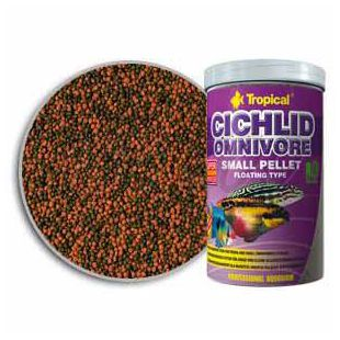 TROPICAL Cichlid Omnivore Small Pellet 250ml/90g