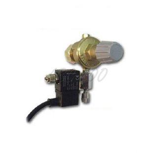 """Redukčný ventil CO2 - závit G3/4"""" +ihlový+emg.ventil, ( bez budíkov)"""