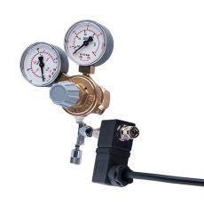 "Redukčný ventil CO2 - G3/4"" +ihlový+emg.ventil, (2x man)"