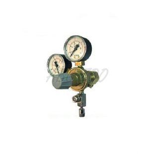 """Redukčný ventil CO2 - závit W21,8x1/14"""" + ihlový ventil (2x man)"""