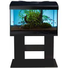 Akvárium komplet DIVERSA 112l - oválne + stolík BUDGET čierny