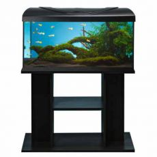 Akvárium komplet DIVERSA 54l - rovné + stolík BUDGET čierny