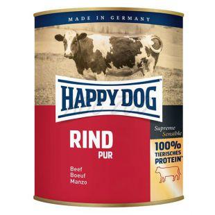 Happy Dog Pur - Rind 800g / hovädzie