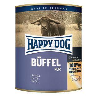 Happy Dog Pur - Büffel 800g / byvolie mäso