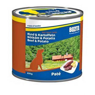 BOZITA, Hovädzie a Zemiaky - 635 g konzerva