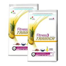 Trainer Fitness3 Adult MEDIUM MAXI - jahňa s ryžou 2 x 12,5 kg