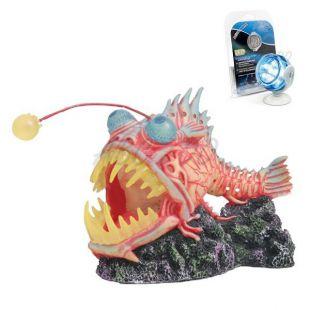 Dekorácia - Monster Fish s multi LED osvetlením