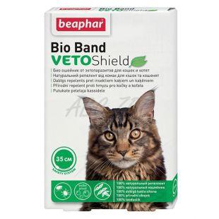 Obojok proti hmyzu pre mačky Beaphar, prírodný - 35cm