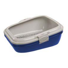 Toaleta pre mačky BIRBA modrá - 55,5x45,5x22,5cm