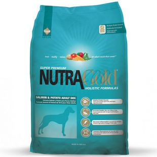 NUTRA GOLD HOLISTIC Salmon and Potato Adult Dog 3kg