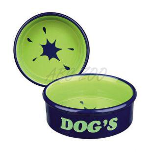 """Keramická miska pre psa s nápisom """"Dogs"""" - 0,5l"""
