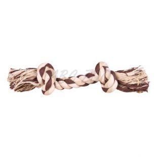 Bavlnené lano s uzlami - hračka pre psa, 40 cm