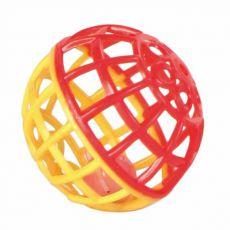 Plastová loptička so zvončekom - 4,5 cm
