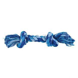 Bavlnené lano s uzlami - hračka pre psa, 22 cm