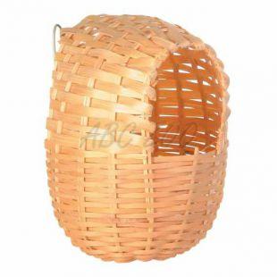 Exotické hniezdo pre vtáky - 11 x 12 cm