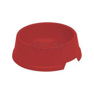 Miska pre psa BUFFET 2 - plastová, červená, 300 ml