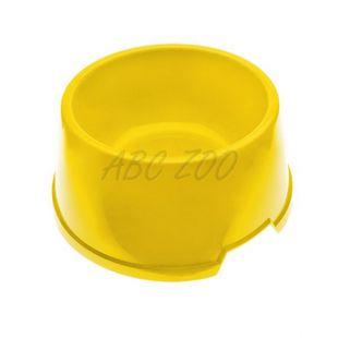 Miska pre psa BUFFET 6 - plastová, žltá - 3,6L