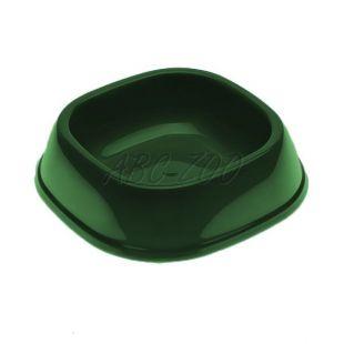 Miska pre psa SNACK 1 - plastová, tmavozelená, 250 ml