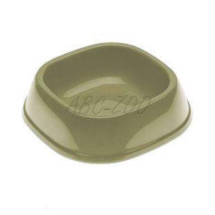 Miska pre psa SNACK 1 - plastová, sivá, 250 ml