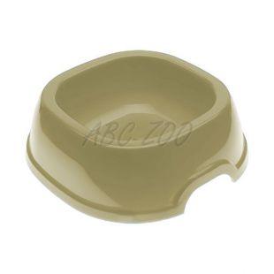 Miska pre psa SNACK 2 - plastová, sivá, 350 ml