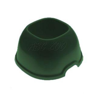 Miska pre psov s dlhými ušami SNACK 11 - zelená, 700 ml