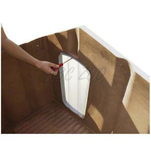 Dvierka Porta 4 na búdu pre psa, plastové - 50 x 27,5 cm