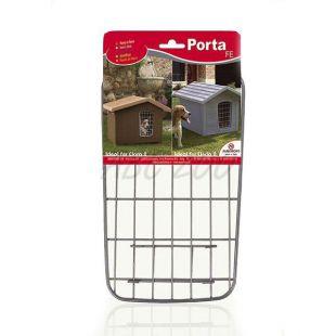 Dvierka porta 2 na búdu pre psa, kovové - 30,5 x 18,5 cm