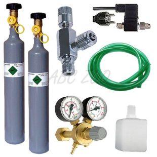 CO2 profesional set s emg. ventilom + náhradná fľaša 500g