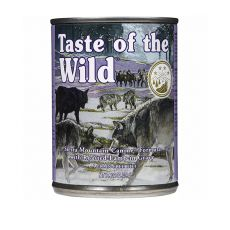TASTE OF THE WILD Sierra Mountain Canine - konzerva, 390g