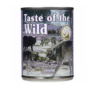 TASTE OF THE WILD Sierra Mountain Canine - konzerva, 374g