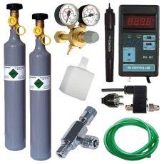 CO2 profesional set + náhradná fľaša 500g + pH Controller