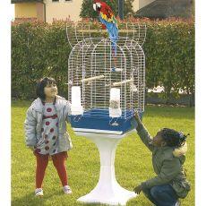 Klietka pre vtáky KIT COYA 52 modrá - 52 x 52 x 148 cm