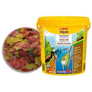 sera Vipan krmivo pre ryby - veľké vločky, 2kg