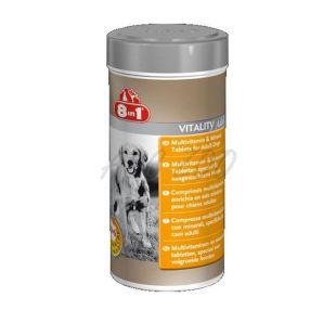 Vitamíny pre psov 8 in 1 VITALITY ADULT - 70 tbl