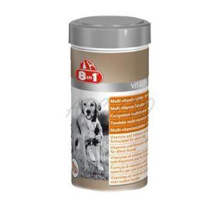 Vitamíny pre psov 8 in 1 VITALITY SENIOR - 70 tbl