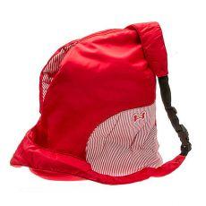 Taška pre psa alebo mačku cez rameno, červená - 37 x 37 cm