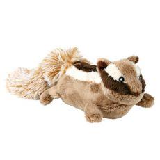 Plyšová hračka pre psa - veverička, 28 cm