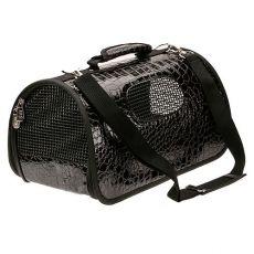 Prepravka pre psy a mačky - čierna, 37 x 22 x 20 cm