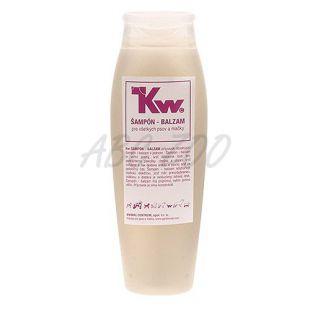 Kw - Šampón a balzam pre psov a mačky, 250ml