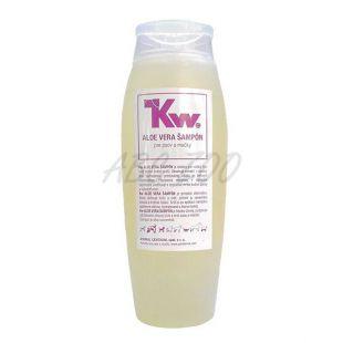 Kw - Aloe vera šampón pre psov a mačky, 250ml