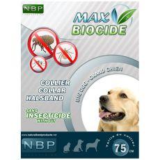 MAX BIOCIDE Antiparazitný obojok pre veľké psy- 75 cm