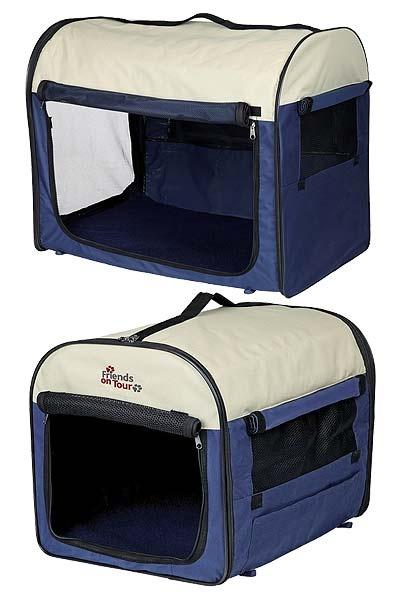 dc04949d2a Prenosná taška na psy a mačky - tmavo svetlo modrá