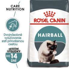 Royal Canin Hairball Care granule pre mačky pre správne vylučovanie 2 kg