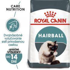 Royal Canin Hairball Care granule pre mačky pre správne vylučovanie 10 kg