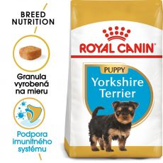 ROYAL CANIN Yorkshire Puppy granule pre šteňa jorkšíra 7,5 kg