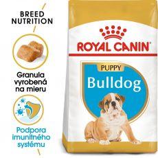 ROYAL CANIN Bulldog Puppy granule pre šteňa buldoga 3kg